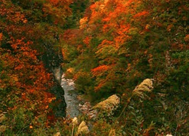 日本三大渓谷である清津峡